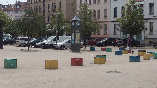 WestRing-Impressionen: Frankfurter Platz