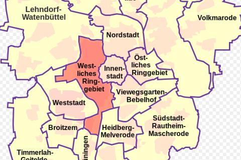 Das westliche Ringgebiet