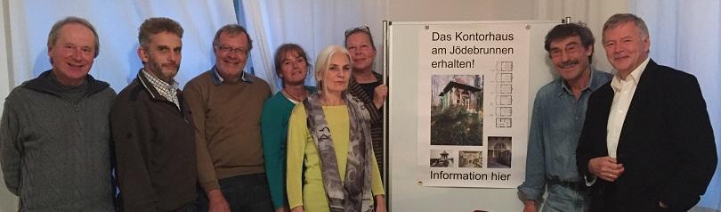 Foto: Kontorhaus am Jödebrunnen e.V., Gründerfoto