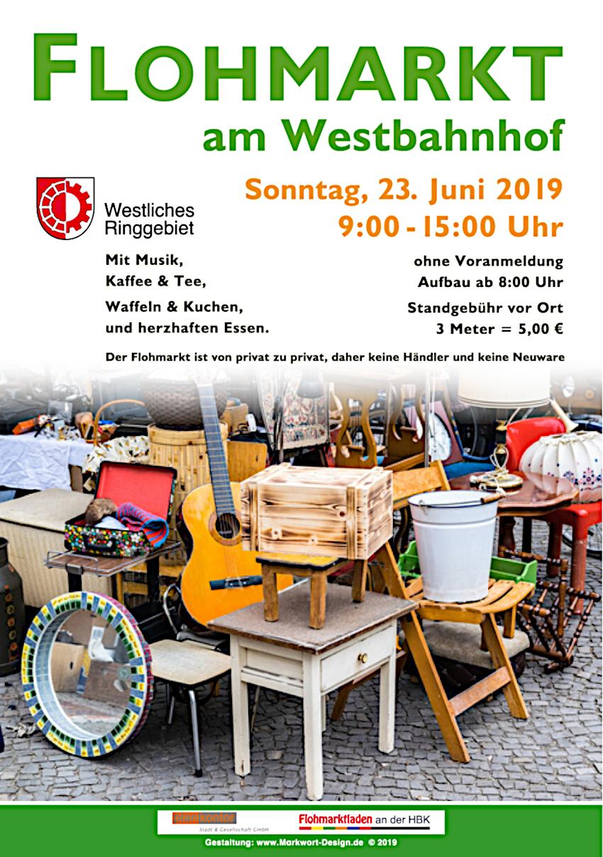 Flohmarkt am Westbahnhof 2019 @ 38118 Braunschweig, Am Westbahnhof