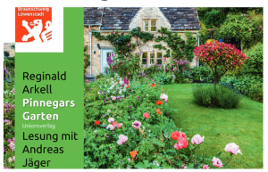 Pinnagars Garten - Lesung mit Andreas Jäger @ Garten ohne Grenzen, Blumenstraße 20, 38118 Braunschweig