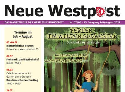 Die Neue Westpost Juli/August 2021